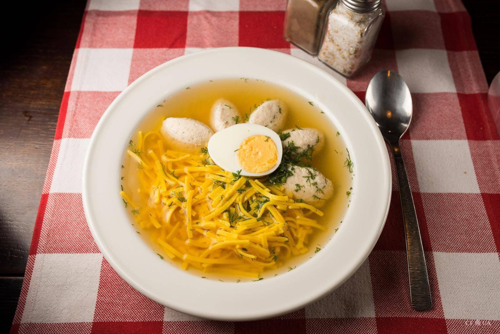 картинки суп лапша с фрикадельками прошлой неделе