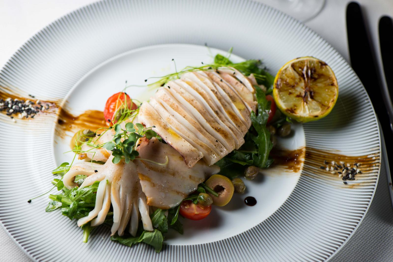 фото морепродуктов блюд для меню